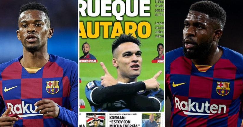 €60m plus two players: details of Barca's final offer for Lautaro Martinez revealed - logo