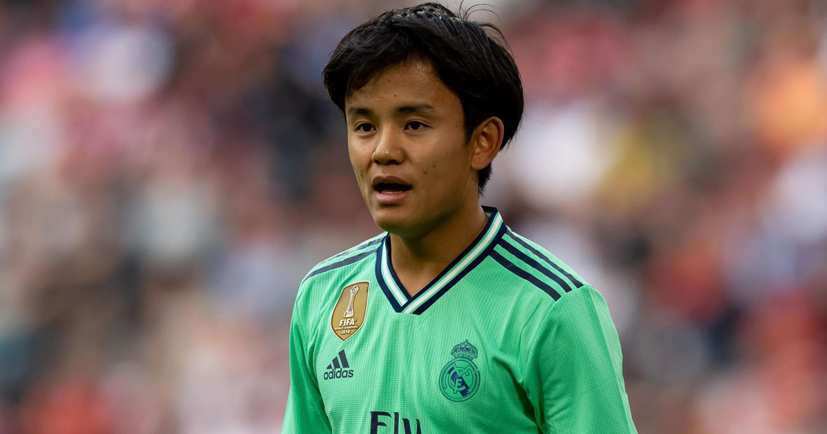 Amount Villarreal paid to Madrid for Kubo's loan deal has been revealed