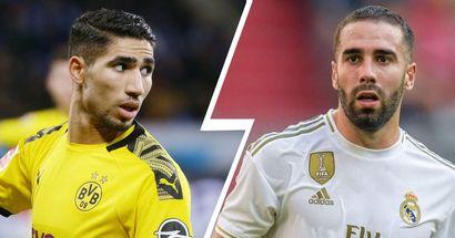 ❓DISKUSSIONSTHEMA: Sollte Real Madrid Hakimi als Ersatz für Carvajal zurückholen?
