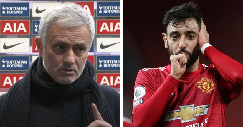 'Some people score 10 goals a season on penalties': Mourinho's latest dig on Bruno is classic case of sour grapes - logo