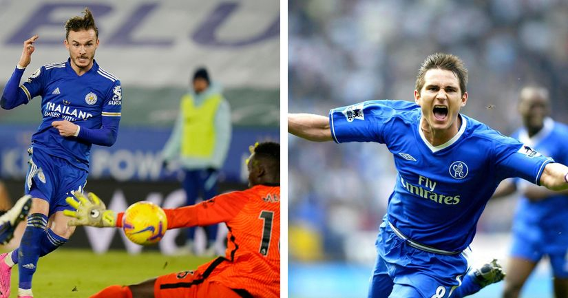 'He was the best at it': James Maddison reveals Lampard's influence on improved goalscoring - logo