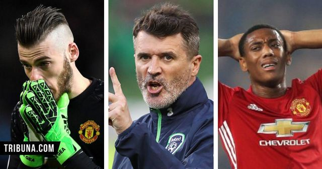 10 times Roy Keane ranted at Man United and their players