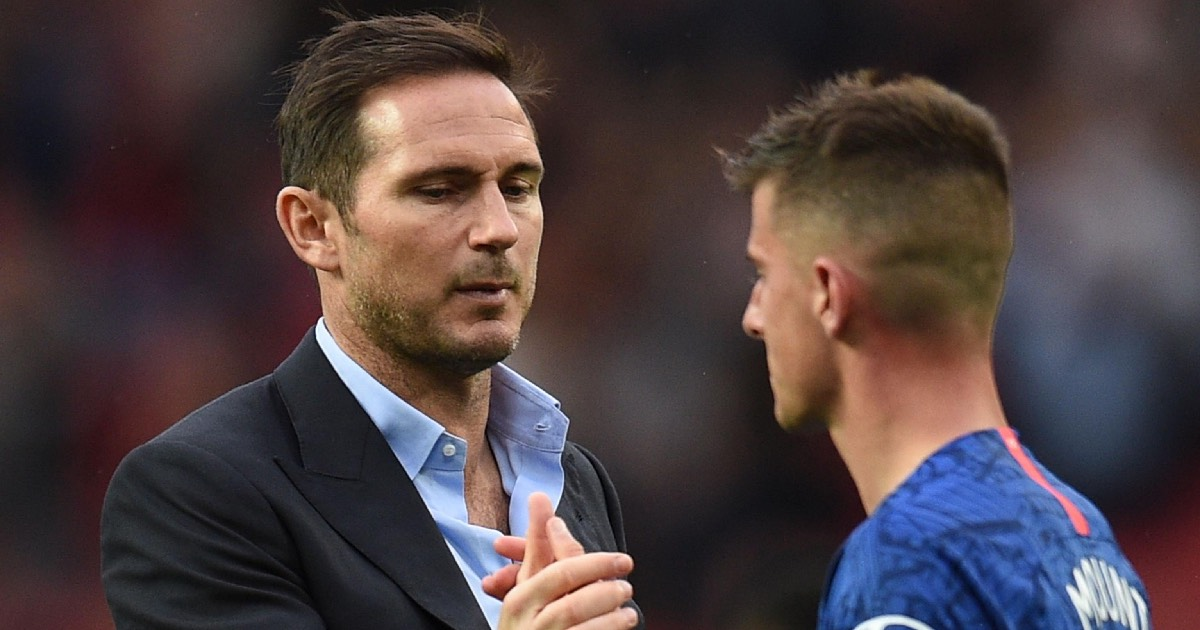 Lampard reveals it's up to the young players to rise to Chelsea's level
