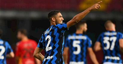 Pre-assist, assist, goal: Hakimi records special hat-trick in his 1st full game for Inter