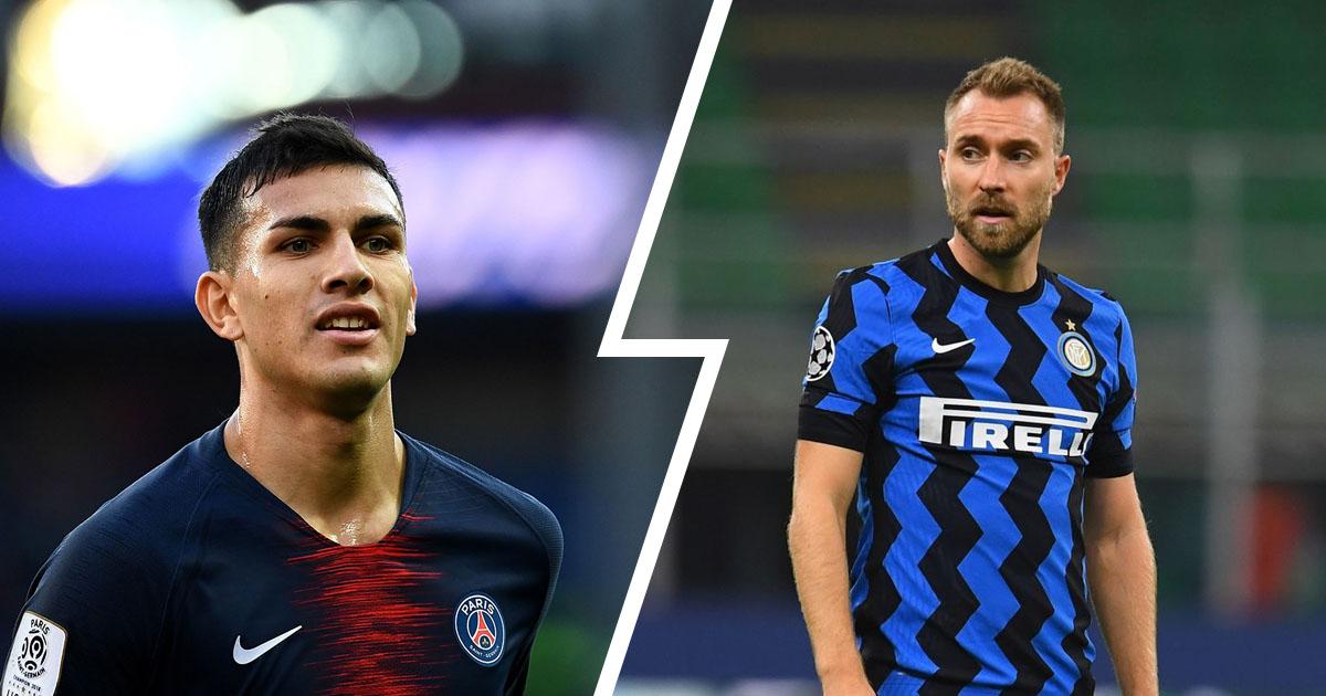 Lo scambio Paredes-Eriksen conviene all'Inter? La risposta è sì per 2 buone ragioni