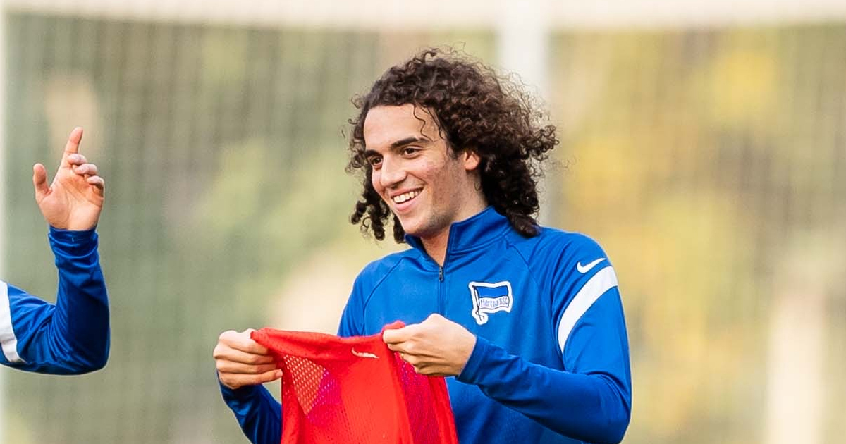 Guendouzi recovers from coronavirus, trains with Hertha for first time