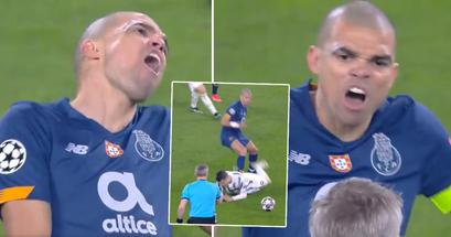 Pepe hat genug von Moratas Schauspielerei, verspottet Alvaro nach einem Foulspiel brutal