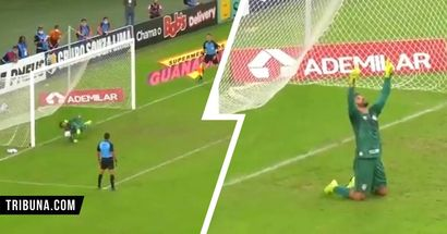 It runs in the blood - watch Alisson's elder brother Muriel's fantastic goalkeeping display (video)