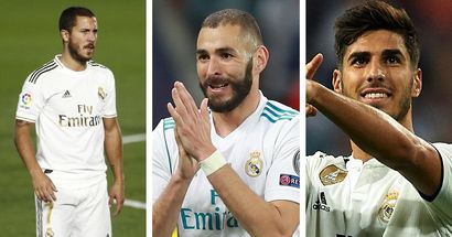 Marca: Zidane préfère le trio offensif Hazard-Benzema-Asensio; Vinicius et Rodrygo ont du retard