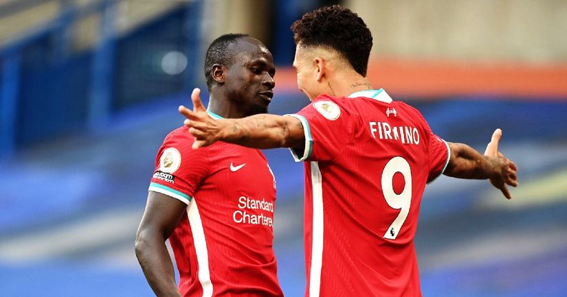 'He deserves more credit than me and Mo': Mane gushes about 'favourite teammate' Firmino - logo