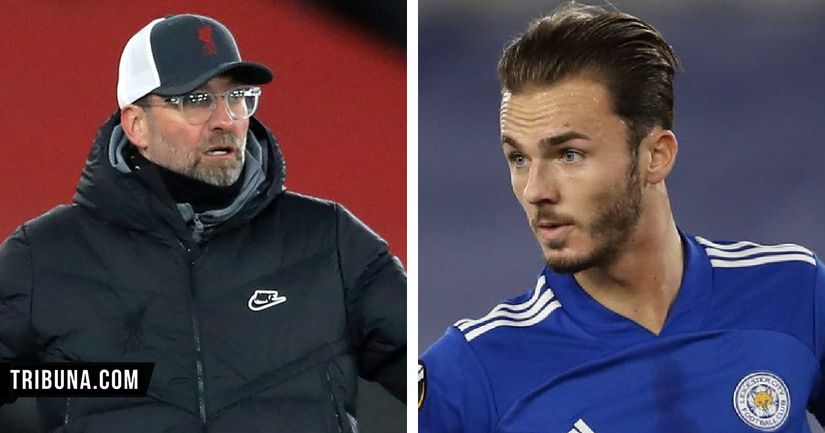 'Let them talk about Liverpool and United': James Maddison sends title message - logo