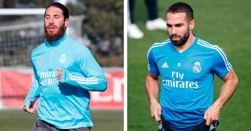 راموس وأوديجارد خارج الخدمة ، أخبار تدريب ريال مدريد قبل مباراة ألافيس - logo