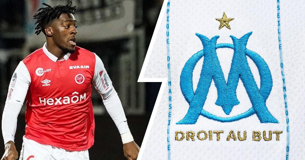 La stratégie de l'OM pour s'attacher les service d'Axel Disasi, jeune défenseur central du Stade de Reims