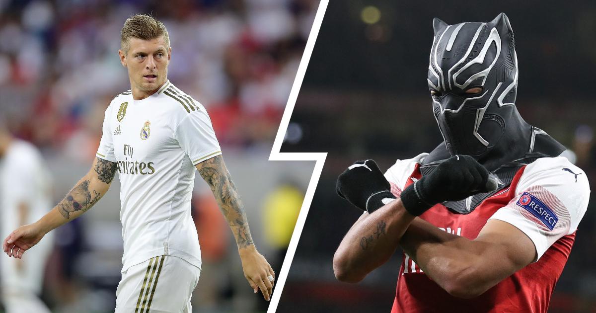 Real Madrid Midfielder Toni Kroos slams Aubameyang elaborate goal celebrations with mask:what nonsense!'