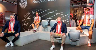 FC Bayern startet den Verkauf der Club-Masken - Gewinn vom Verkauf wird an WeKickCorona gespendet