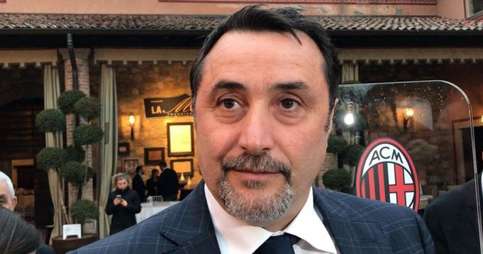 """Mirabelli rivendica i meriti della gestione cinese: """"Se il Milan oggi è ai vertici è al 50% merito nostro"""" - logo"""