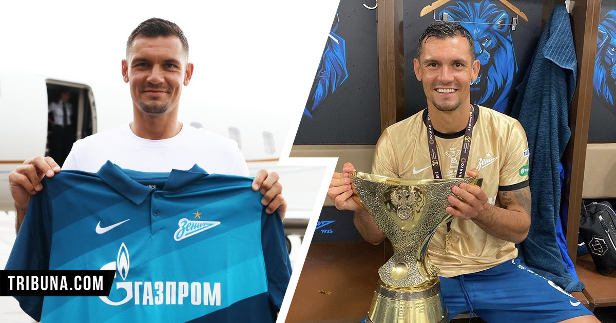 Dejan Lovren plays first game for Zenit - and wins first trophy