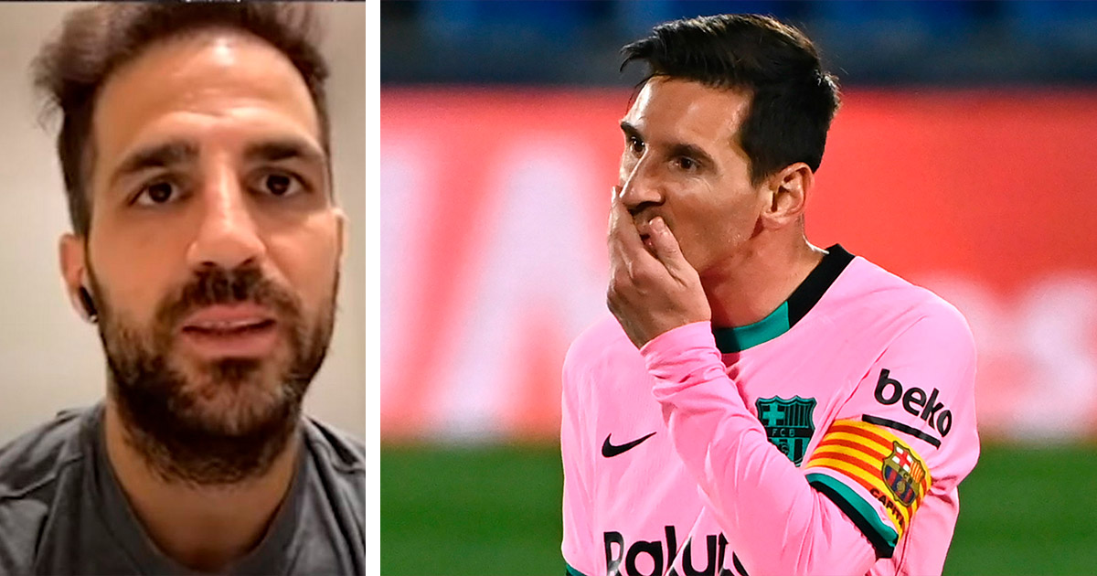 'I saw people at Barca who wanted to hurt Messi': Ex Barca player Fabregas