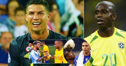 """Brasilien-Legende Edilson: """"Ich bin besser als Messi, Cristiano und Neymar. Nur wenige Leute können das sagen"""""""