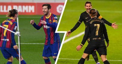 Efectivos y letales: Messi-Griezmann, el mejor dúo en ataque de LaLiga