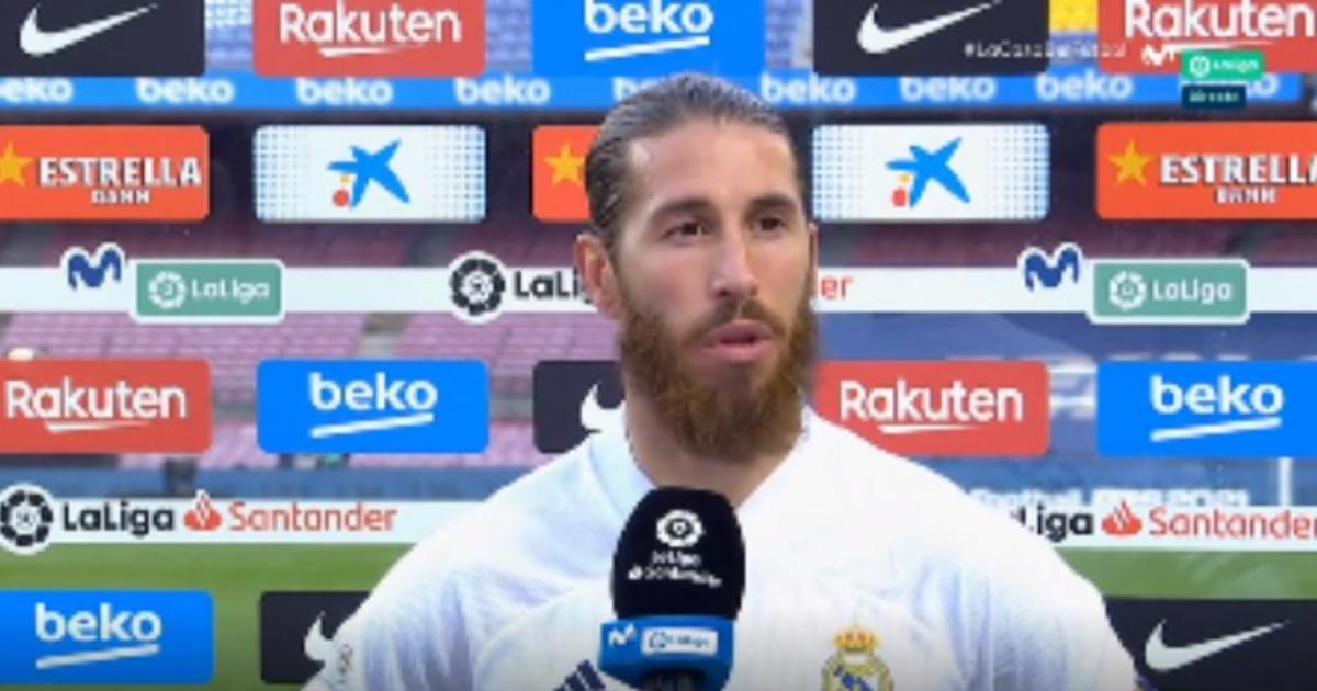 Ramos: 'Despite everything that is said, the team will always be united'