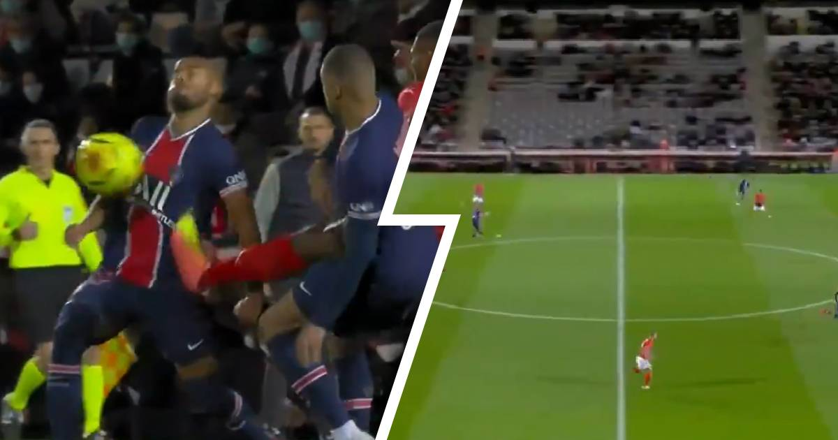 2 key moments of Rafinha's PSG debut so far: nasty kick in ribs and beautiful assist