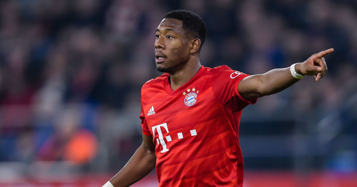 David Alaba on Real Madrid radar amid contract stand-off with Bayern Munich
