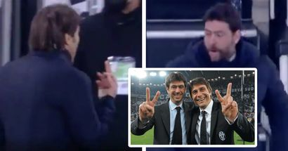 Conte shows middle finger to Juve bench, Agnelli replies, 'put that finger in your ass, b* * * * *'