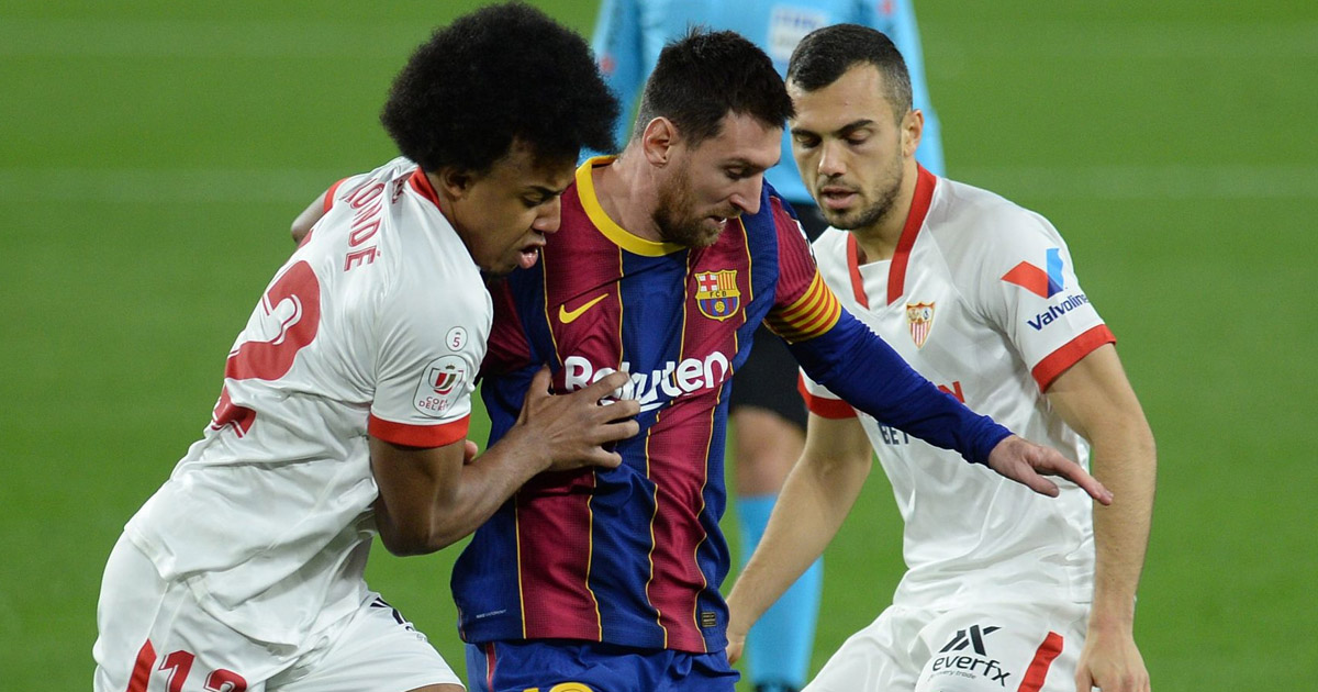 Back-to-back Sevilla clashes coming up: Reminder of Barcelona's next 5 fixtures