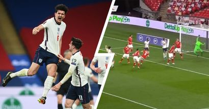 'Slabbed it right in': United fans left stunned by Maguire's smashing winner for England vs Poland