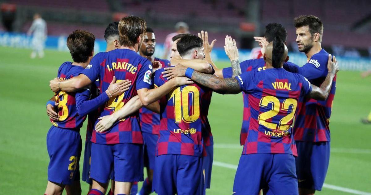 الجدول كاملا.. تعرف على ترتيب مباريات برشلونة في بطولة الدوري الإسباني