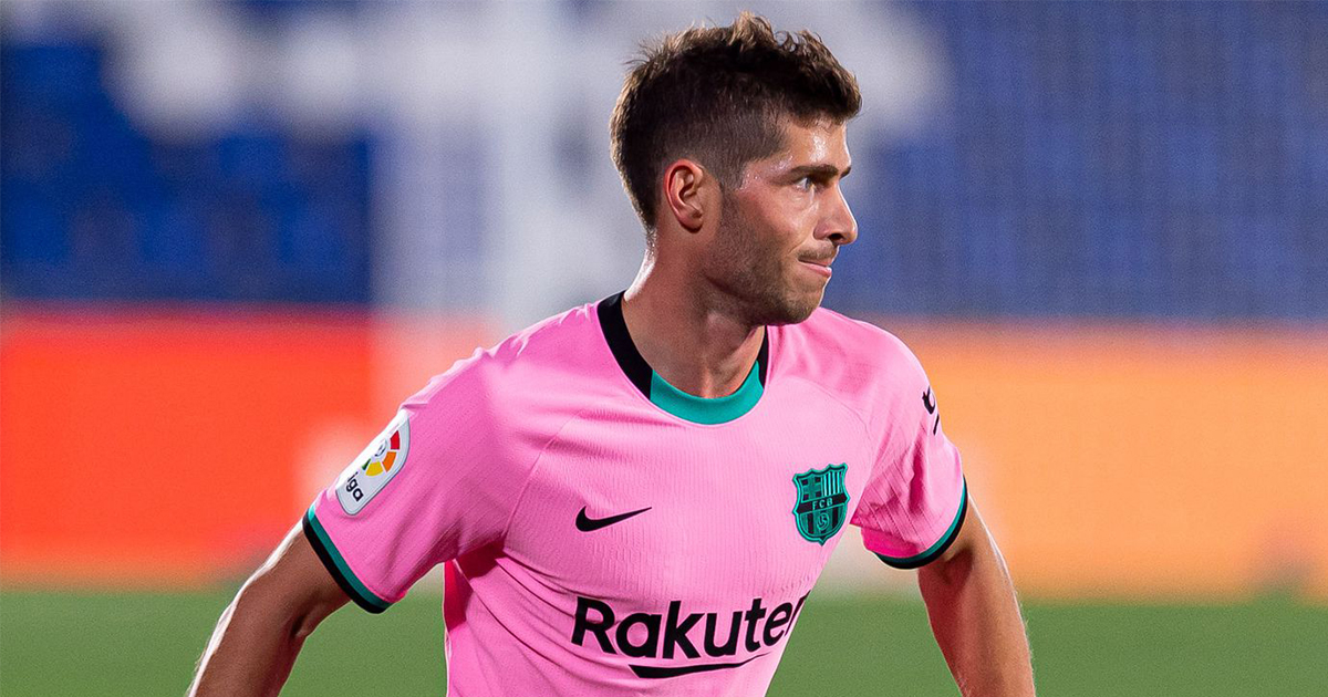 Barcelona officially confirms Sergi Roberto will be out for 2 months