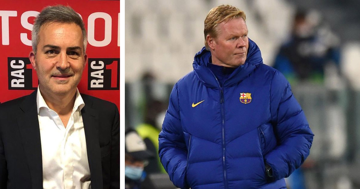 'I made a mistake with such strong statements on Koeman': Barcelona presidential candidate Font