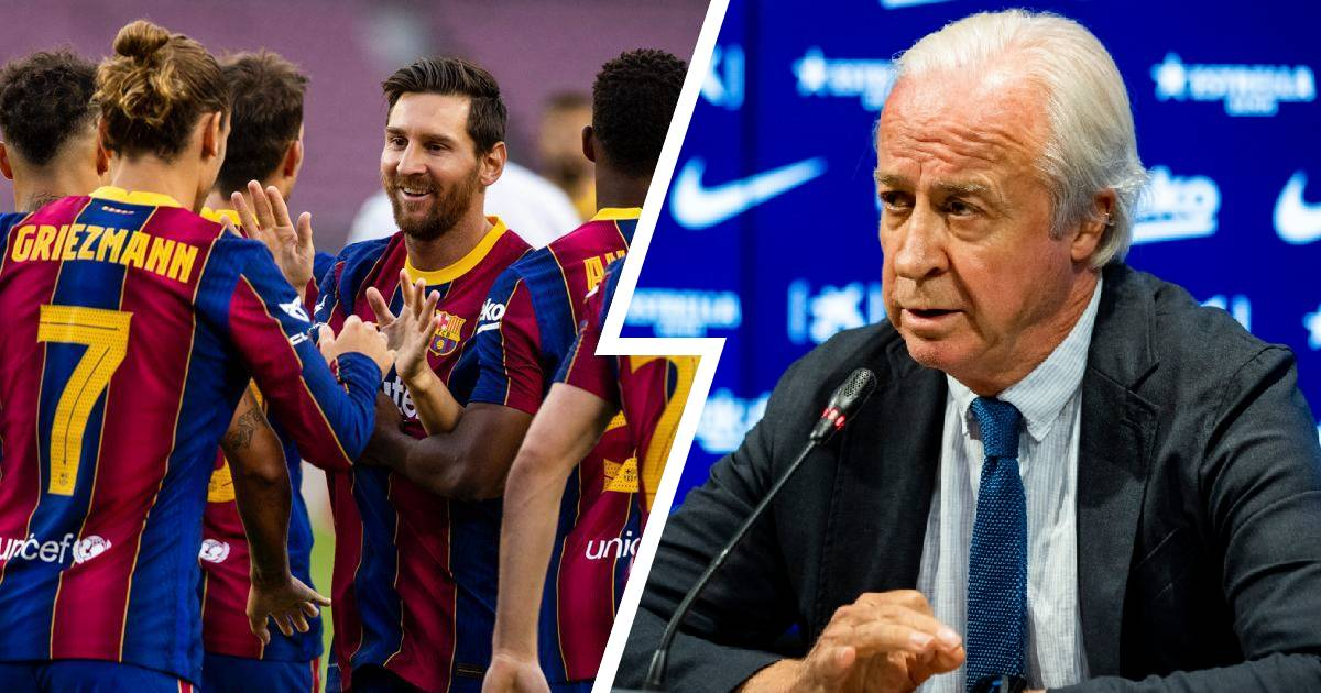 Barcelona has officially announced no agreement on pay cut, name deadline