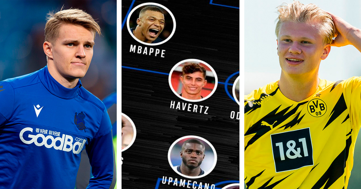 Odegaard in: How the best U21 XI would look like right now
