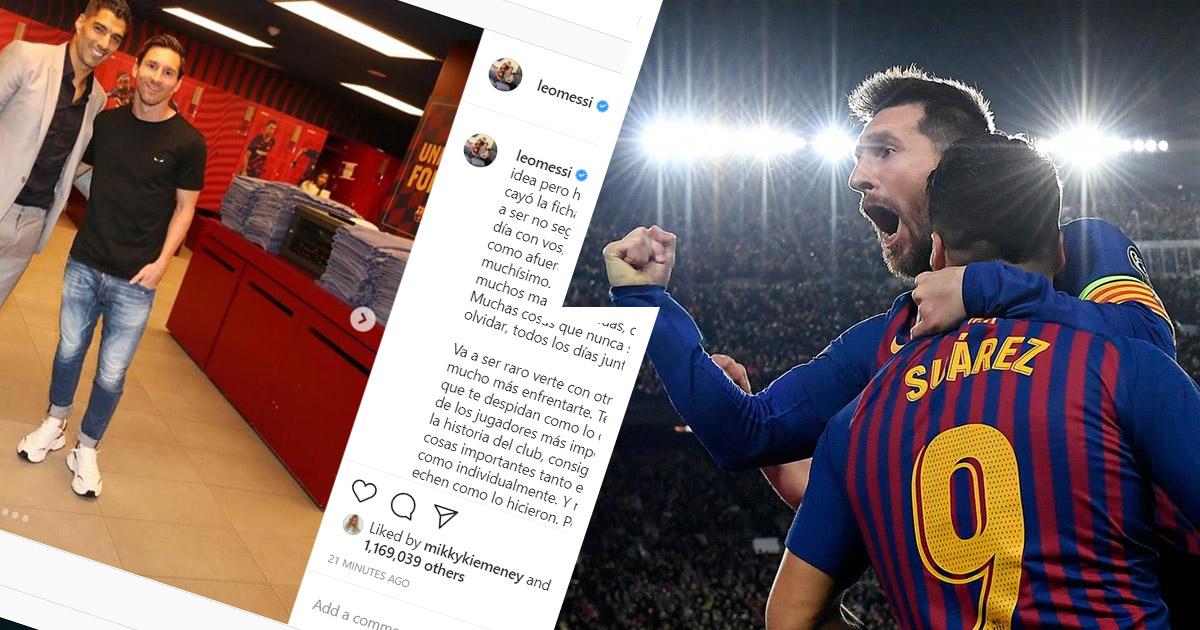 """Messi: """"Sen boshqalar singari haydalishga loyiq emas eding"""" (foto)"""