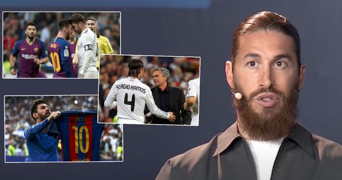 Sergio Ramos: 'We've suffered against Messi. Perhaps if Barcelona didn't have him, we would've won more titles' - logo