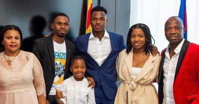 Ansu desvela de dónde sacó su talento: 'Mi padre y mi madre fueron futbolistas y mi hermano jugó en la Masía'