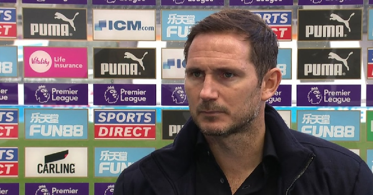 Lampard reacts to Chelsea being top of Premier League table