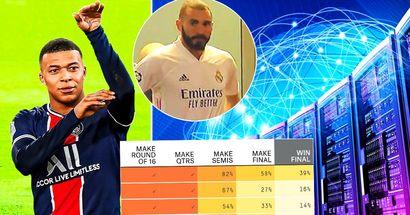 Supercomputer sagt voraus, wer im Viertelfinale der Champions League gewinnen wird