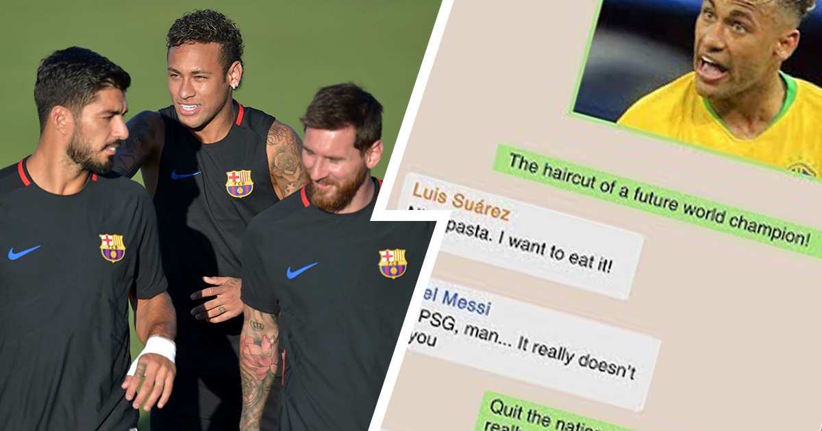 'Thx man, was a crap match': Barca fan imagines WhatsApp chat between Neymar, Messi, Suarez and Alba after Clasico