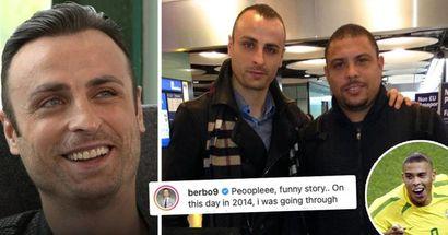 """""""Non credo sapesse chi ero"""": Berbatov svela la grande storia dell'incontro con Ronaldo all'aeroporto"""