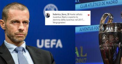 La UEFA oscura 'casualmente' la Juve nelle semifinali storiche di CL: l'ennesima scorrettezza targata Ceferin
