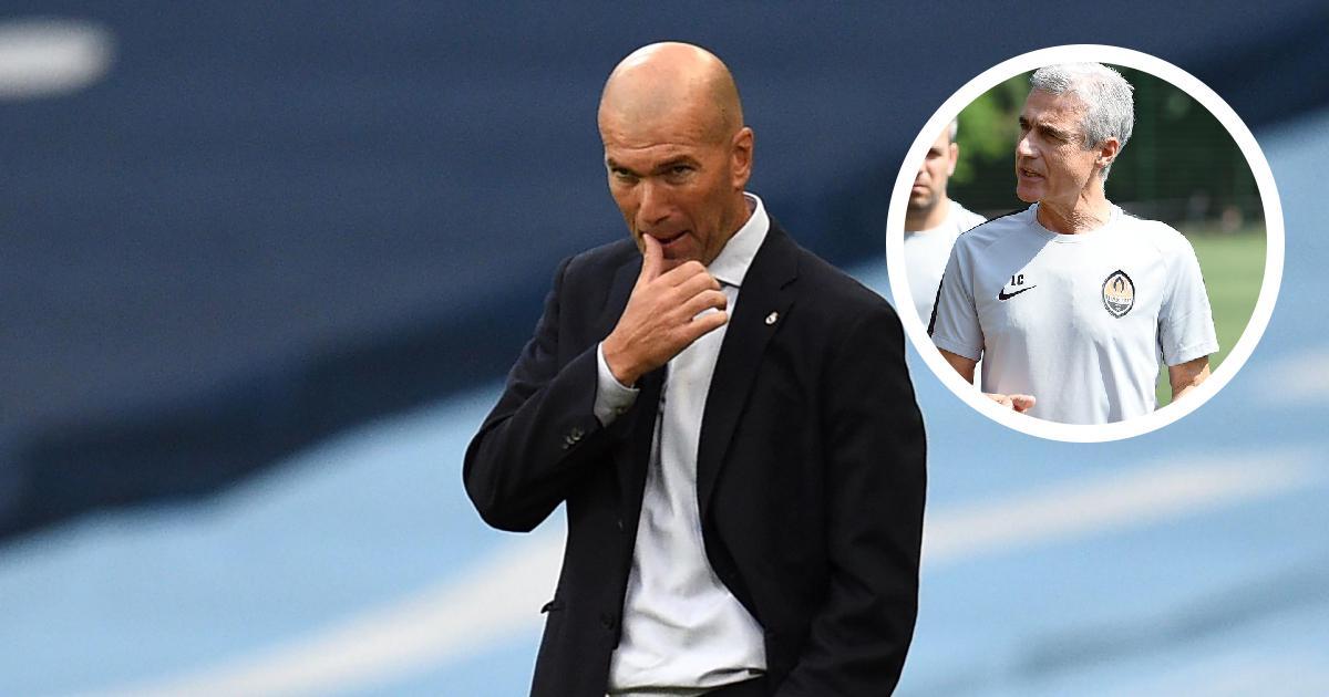 '¿Cómo se puede criticar a Zidane?': el técnico del Shakhtar defiende la labor de su oponente
