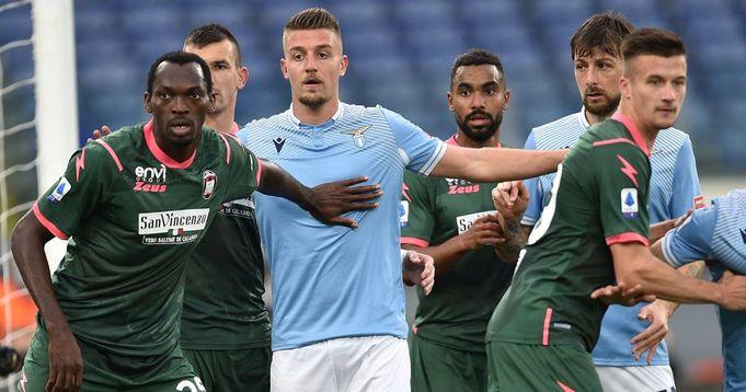 Gegnerübersicht: Lazio Rom feiert einen hart umkämpften Sieg gegen Tabellenschlusslicht Crotone - logo