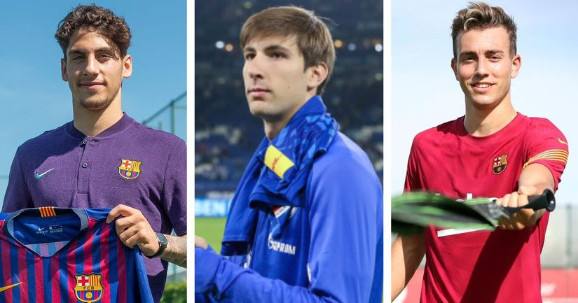 Oriol and Collado to stay, Manaj and other to leave: Barca B transfer plans revealed (reliability: 5 stars) - logo