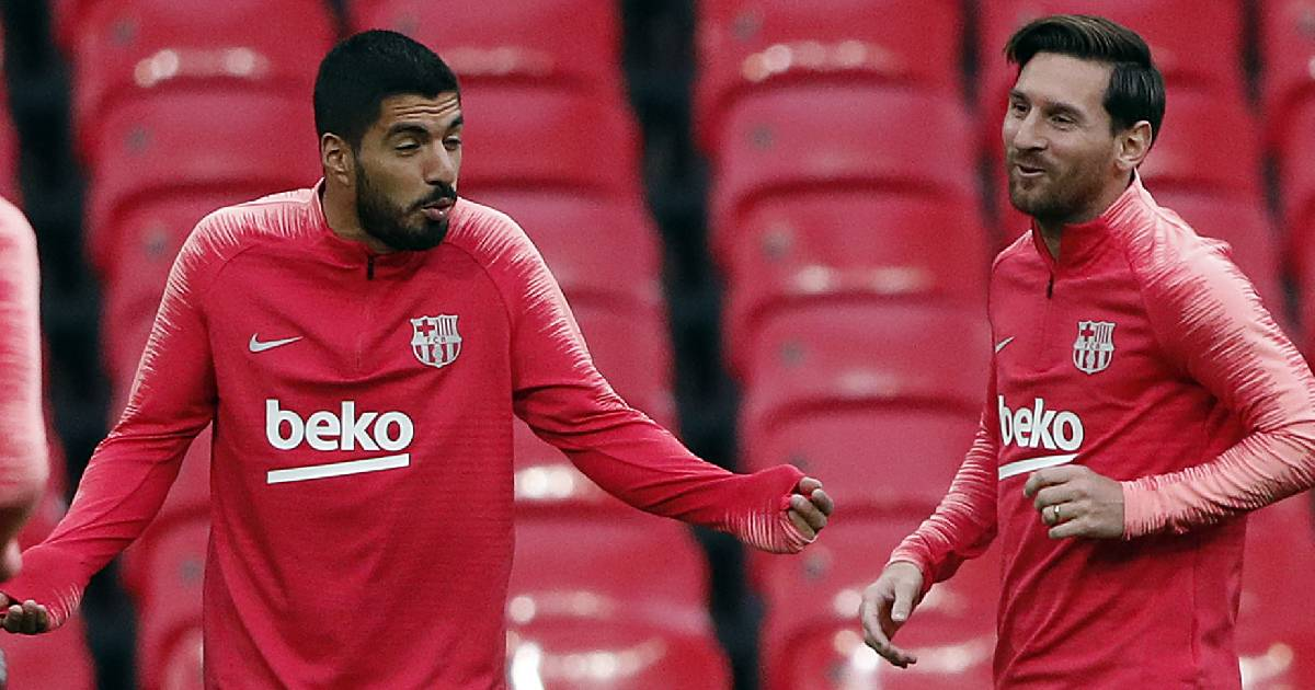 'Messi and I speak a lot about children, life, the virus and everything else': Luis Suarez