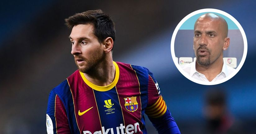 Juan Sebastian Veron names one person who could lure Leo Messi to Inter Milan - logo