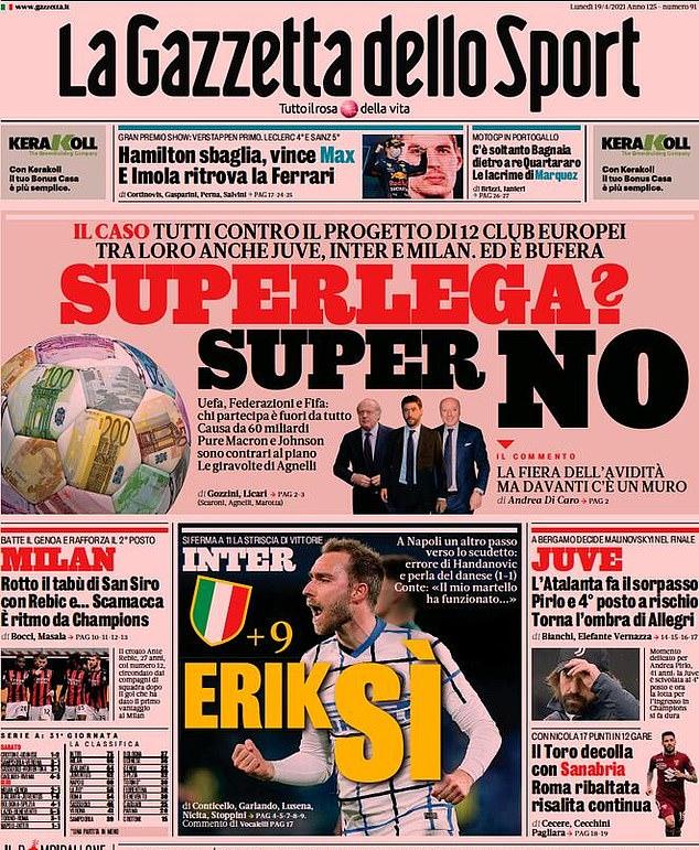 Super NO': European sport papers send clear message to Super League clubs