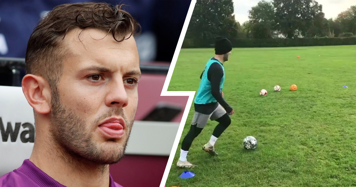 Jack Wilshere trains in local park as he keeps searching for new club